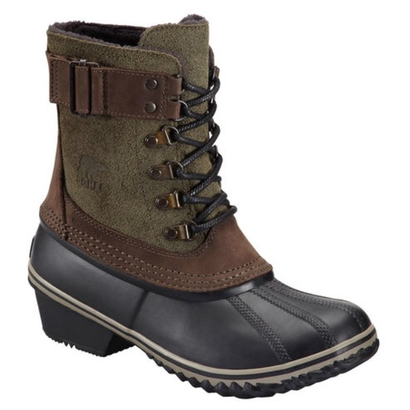 SOREL Women's Winter Fancy Lace II Waterproof Block Heel Cold Weather Boots X0d9apfL